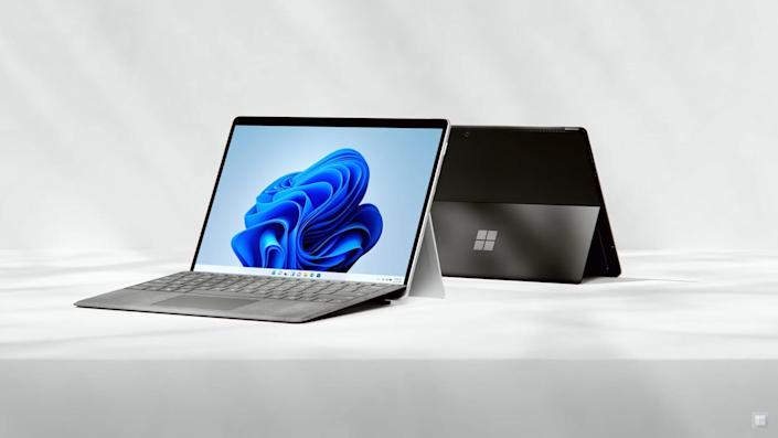 The new Microsoft Surface Pro 8 now features an Intel 11th-gen processor with Iris Xe graphics.