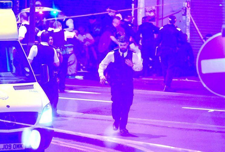 A man has been arrested in following Finsbury Park terrorist attack
