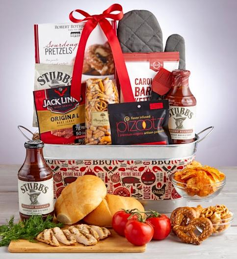 1800Baskets Classic Barbecue Gift Tub