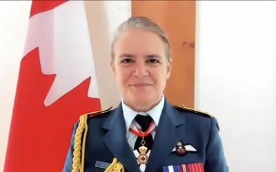 Her Excellency the Right Honourable Julie Payette, Governor General and Commander-in-Chief of Canada, presided over the virtual Change of Command of the Canadian Armed Forces ceremony on January 14, 2020. (CNW Group/Governor General of Canada)