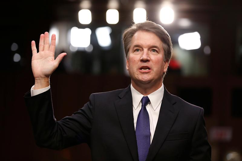 Advocates for survivors of sexual violence are suspending their work with the Senate Judiciary Committee to protest how senators are reacting to Christine Blasey Ford's allegations against Supreme Court nominee Brett Kavanaugh. (Joshua Roberts/Reuters)