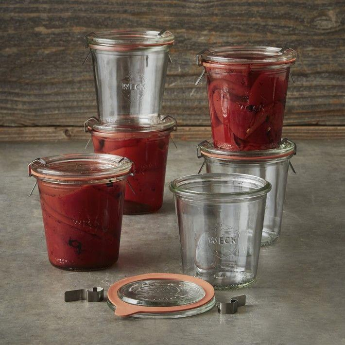 """<p>williams-sonoma.com</p><p><strong>$29.95</strong></p><p><a href=""""https://go.redirectingat.com?id=74968X1596630&url=https%3A%2F%2Fwww.williams-sonoma.com%2Fproducts%2Fweck-2l-mold-jar&sref=https%3A%2F%2Fwww.womansday.com%2Fhome%2Fg36366935%2Fgardening-gifts%2F"""" rel=""""nofollow noopener"""" target=""""_blank"""" data-ylk=""""slk:Shop Now"""" class=""""link rapid-noclick-resp"""">Shop Now</a></p><p>A European staple since 1900, weck jars are delightful food containers. Gardeners can use them to pickle vegetables, preserve fruits, or even store dried goods.</p>"""