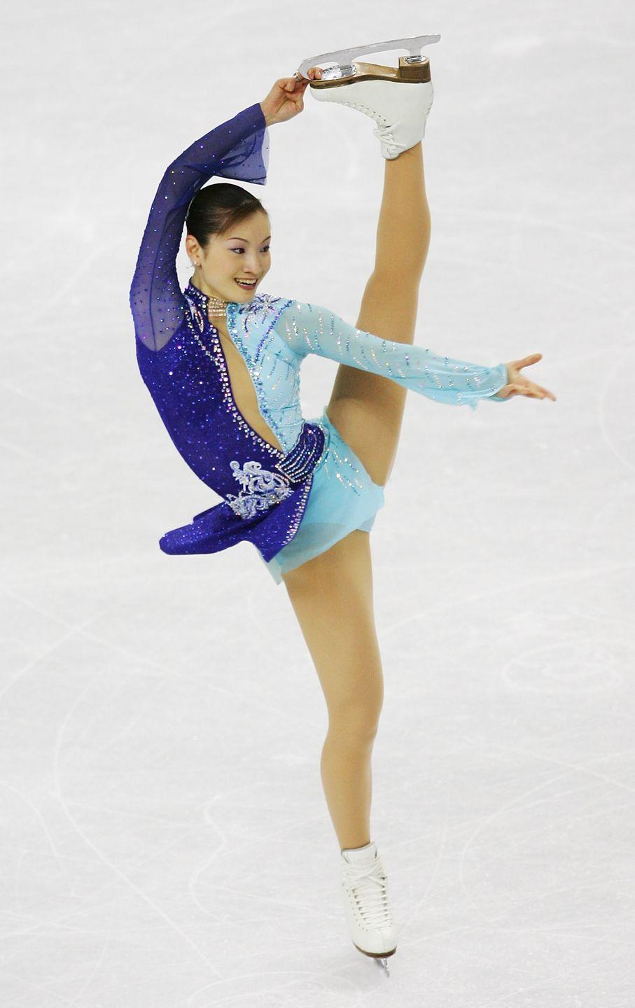 <p>Shizuka Arakawa won the first gold medal in figure skating for Japan, and the second medal overall for the country in the sport, during the 2006 Olympics in Torino, Italy. </p>