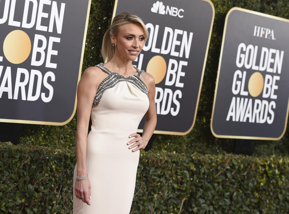 Giuliana Rancic arrives at the 76th annual Golden Globe Awards at the Beverly Hilton Hotel on Sunday, Jan. 6, 2019, in Beverly Hills, Calif. (Photo by Jordan Strauss/Invision/AP)