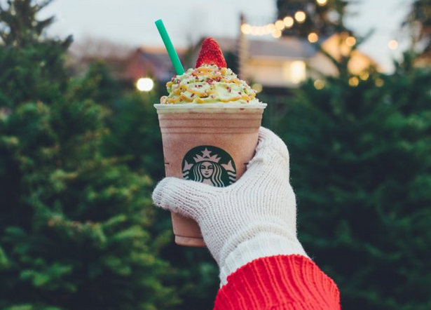 Starbucks just blessed us with the Christmas Tree Frappuccino — but it's only around for a few days