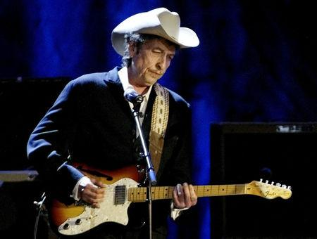 FILE PHOTO: Rock musician Bob Dylan performs at the Wiltern Theatre in Los Angeles