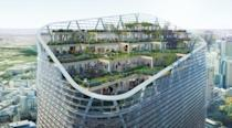The Atlassian building is designed by New York architects SHoP and Australian firm BVN (AFP Photo/Handout)