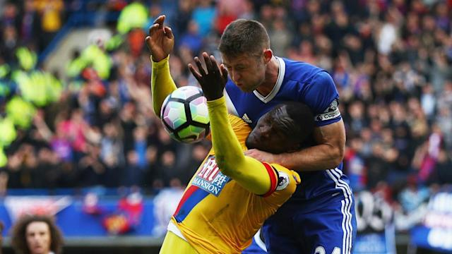 Gary Cahill sees no reason to panic following Chelsea's home defeat against Crystal Palace and aims to bounce back versus Manchester City.