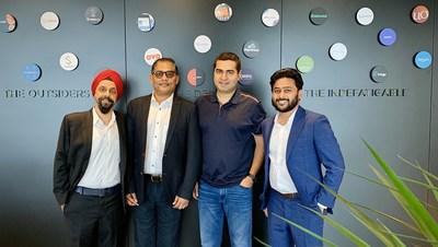 Samya Founders with Shailendra Singh, Sequoia Capital