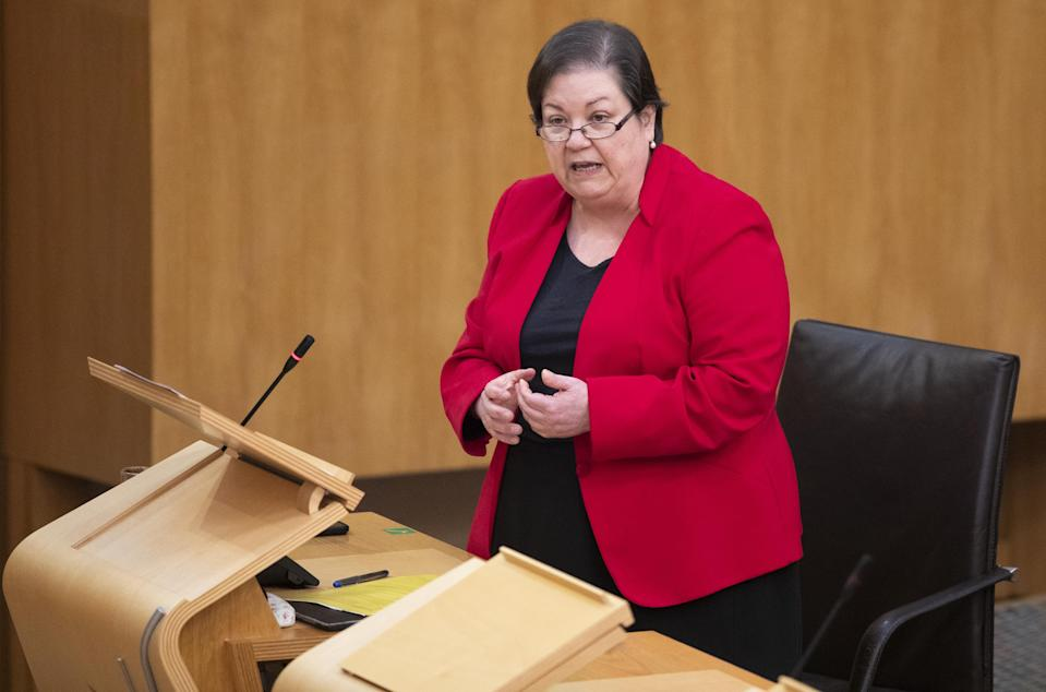 Scottish Labour's Jackie Baillie branded the SNP the 'Secretive National Party'. (Jane Balrow/PA)