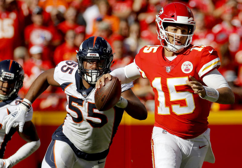 f00d81629 Broncos rookie edge rusher Chubb making up for slow start