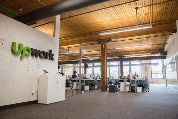 Upwork office in Chicago.