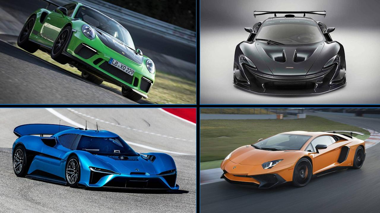 Discover The 10 Fastest Production Cars At The Nurburgring