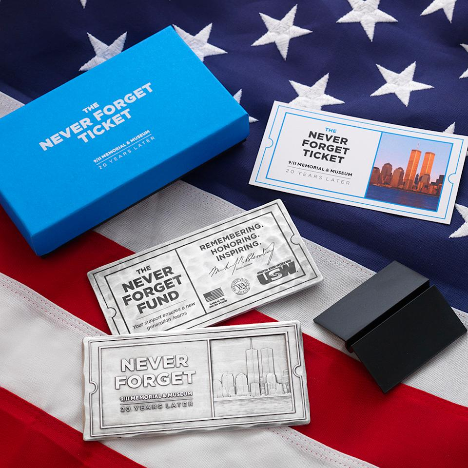 The 9/11 Memorial & Museum launches the Never Forget Ticket for the 20th anniversary. (Courtesy: 9/11 Memorial & Museum)