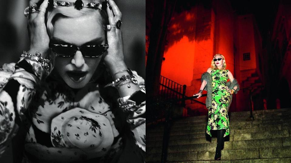 Madonna discusses her family life in Portugal during Vogue Italia interview
