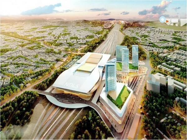 Redevelopment Plan of New Delhi Station.