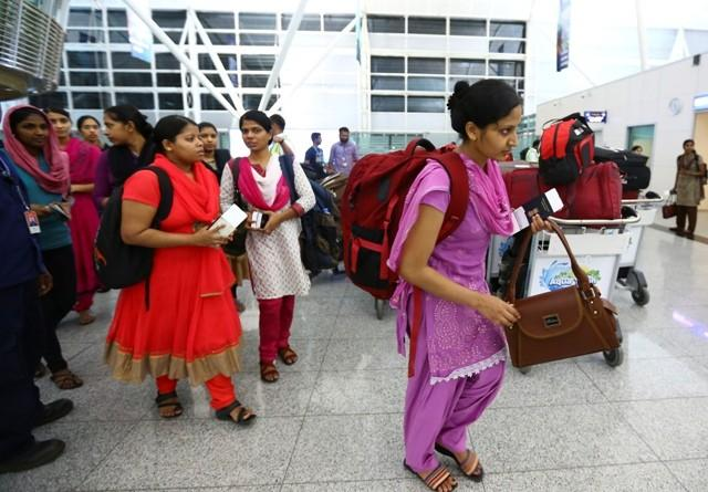 Take off, Indian nurses in Iraq, ISIS
