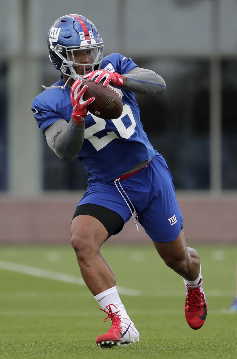 ec2baeaa0 Saquon Barkley making an impression with New York Giants