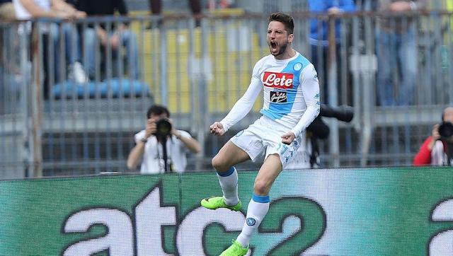 <p>Mertens has simply been unstoppable this season.</p> <p>He has netted 20 Serie A goals in 26 games, and has added another five in the Champions League this season.</p> <p>The Belgian has certainly filled the void left by Higuian last summer, and he would love nothing more to net a few against Juve over the next week.</p>