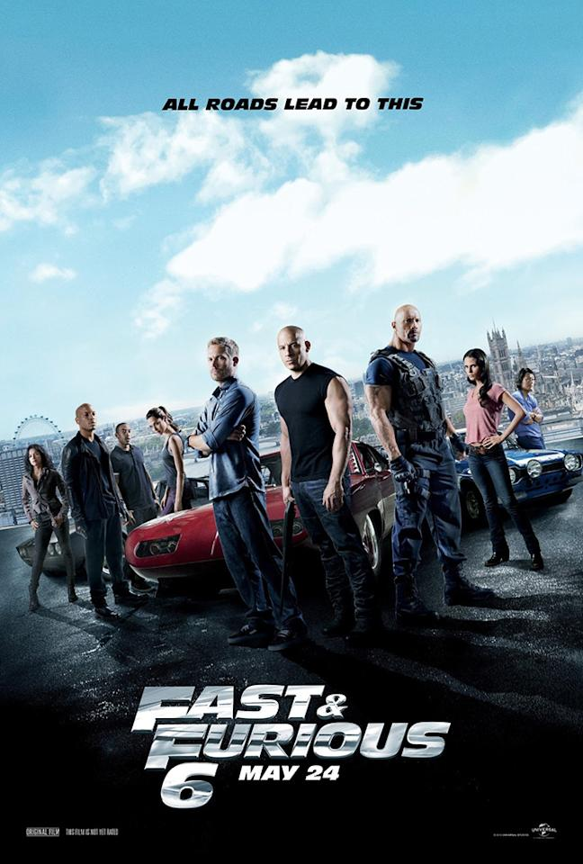 Universal Pictures' 'Fast & Furious 6' - 2013
