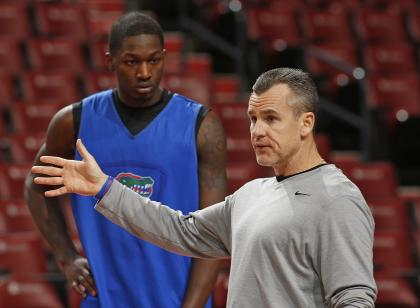 Dorian Finney-Smith remains in Florida coach Billy Donovan's doghouse. (Getty)