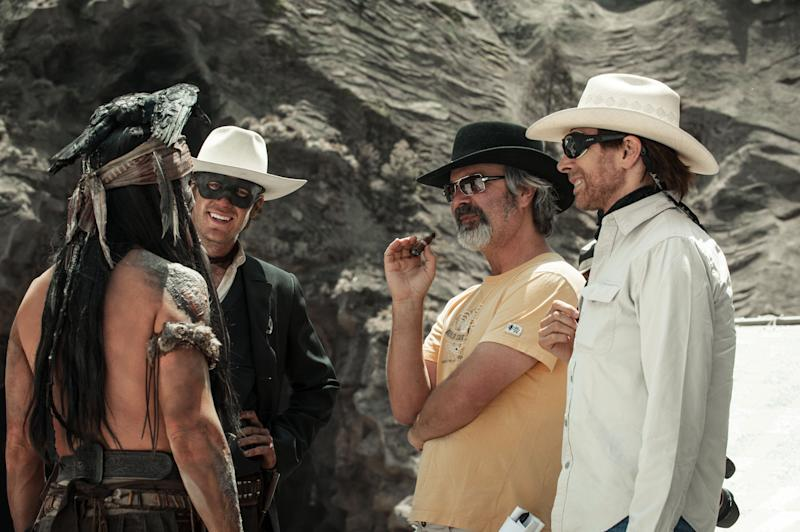 Johnny Depp to do live 'Lone Ranger' online Q&A