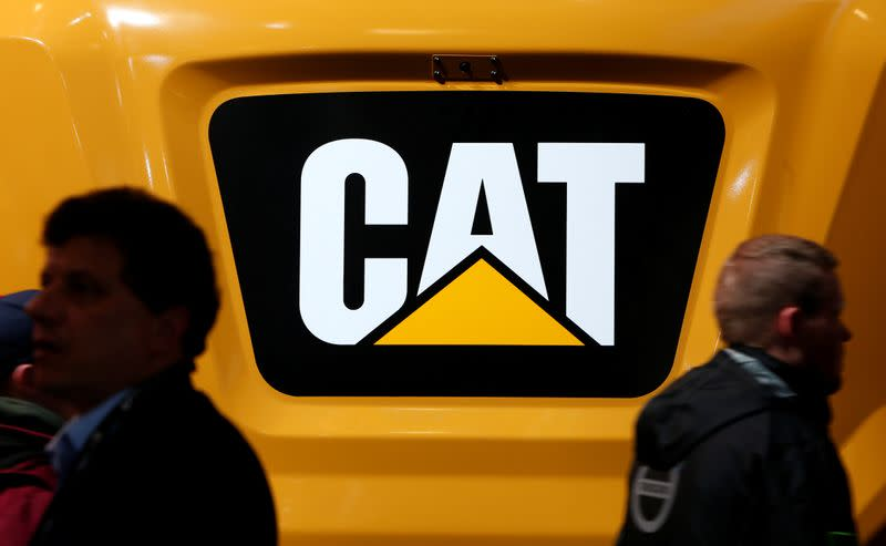 Caterpillar results likely to shed light on strength of economic recovery