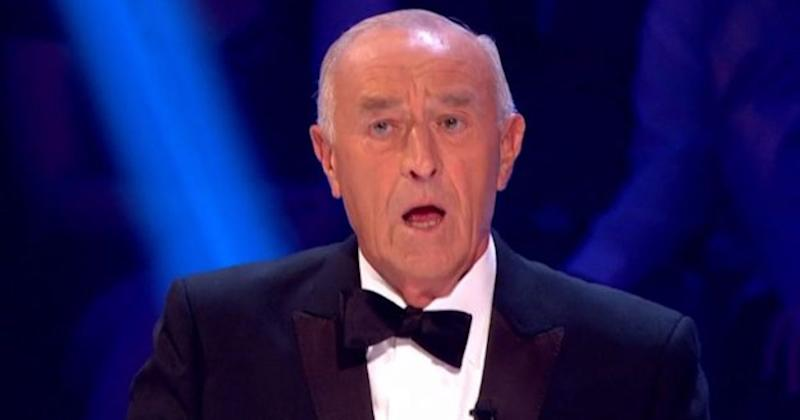 His departure decision came just a few dances after his altercation with chief judge Len Goodman (Photo: BBC)