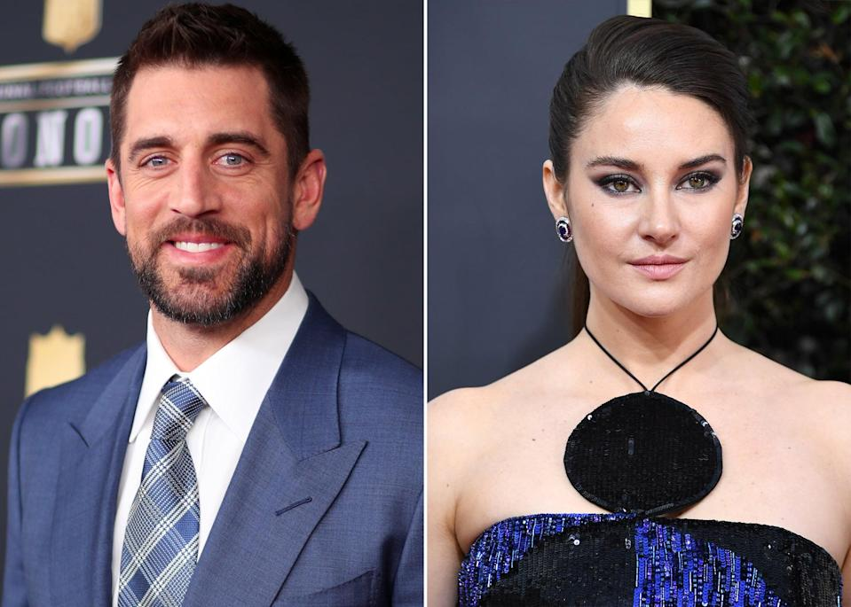 """<p><a href=""""https://www.popsugar.com/celebrity/aaron-rodgers-engaged-shailene-woodley-48152702"""" class=""""link rapid-noclick-resp"""" rel=""""nofollow noopener"""" target=""""_blank"""" data-ylk=""""slk:Aaron announced he was engaged"""">Aaron announced he was engaged</a> during the NFL Honors ceremony on Feb. 6, though he didn't mention his significant other by name during his MVP acceptance speech. <a href=""""https://people.com/sports/aaron-rodgers-shailene-woodley-are-engaged/"""" class=""""link rapid-noclick-resp"""" rel=""""nofollow noopener"""" target=""""_blank"""" data-ylk=""""slk:A source later confirmed to People"""">A source later confirmed to <strong>People</strong></a> it was Shailene. </p> <p>The actress broke her silence on <a href=""""https://www.popsugar.com/celebrity/aaron-rodgers-shailene-woodley-cute-pictures-48246614"""" class=""""link rapid-noclick-resp"""" rel=""""nofollow noopener"""" target=""""_blank"""" data-ylk=""""slk:the relationship"""">the relationship</a> during her Feb. 22 appearance on <strong>The Tonight Show</strong>. """"So, it's kind of funny,"""" she said. """"Everybody right now is freaking out over it, and we're like, 'Yeah, we've been engaged for a while.'"""" Although we're not entirely sure how they met, Shailene did reveal they met during the pandemic. What we do know is that they seem to have a lot in common, <a href=""""https://www.popsugar.com/celebrity/shailene-woodley-aaron-rodgers-at-disney-world-pictures-48255663"""" class=""""link rapid-noclick-resp"""" rel=""""nofollow noopener"""" target=""""_blank"""" data-ylk=""""slk:particularly their love of Disney"""">particularly their love of Disney</a>.</p>"""