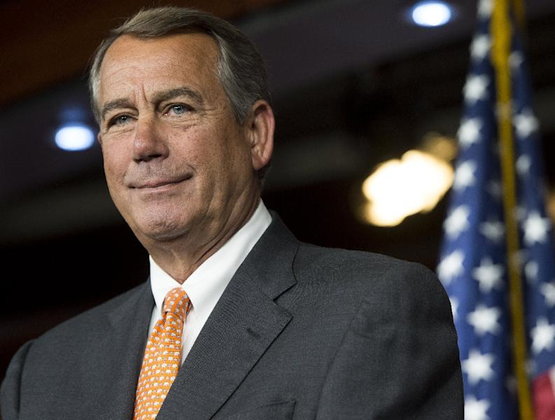 Speaker of the House John Boehner will step down next month (AFP Photo/Saul Loeb)