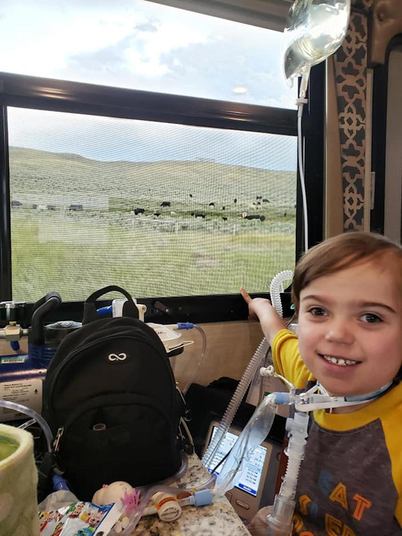 Boy, 4, Traveled Cross Country in Donated RV to Undergo Heart Surgery: 'It's an Amazing Gift'