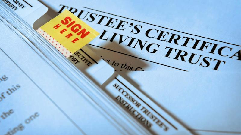should i put my home in a living trust?