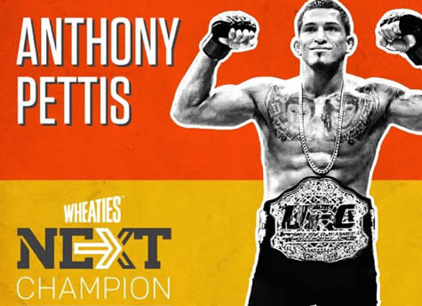 UFC Lightweight Champion Anthony Pettis Wins NEXT Challenge, Will be on Wheaties Box in 2015