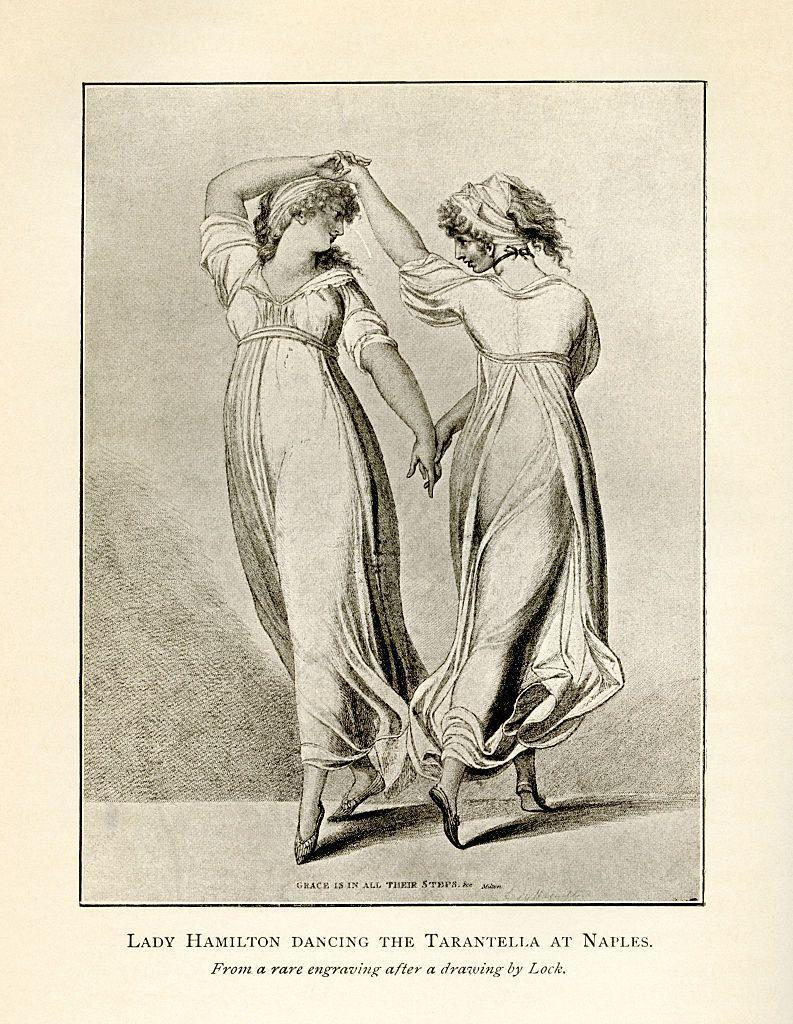 <p>Muslin fabric was very popular in England during the early 19th century, especially for less formal occasions. Think empire waist and cap sleeves à la <em>Emma. </em></p>