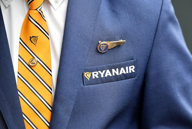 Ryanair announced thousands of staff could lose their jobs. (EMMANUEL DUNAND/AFP via Getty Images)