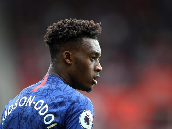 Callum Hudson-Odoi provided the assist for Marcos Alonso (Getty)
