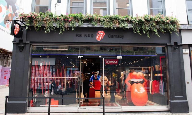 You can always get what you want: Rolling Stones open London shop