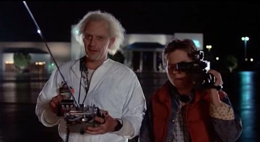 marty mcfly, back to the future, delorian