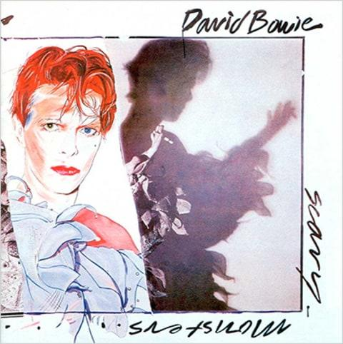 David Bowie Scary Monsters Album Cover