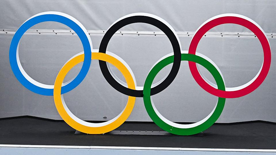 A number of Australian athletes broke protocol in a minor breach at the Olympic village in Tokyo. (Getty Images)