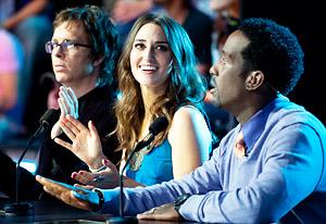 Ben Folds, Sara Bareilles and Shawn Stockman | Photo Credits: Lewis Jacobs/NBC