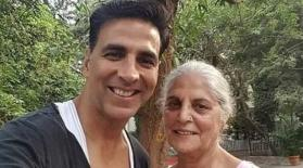 Akshay Kumar shares a glimpse of his mom Aruna's birthday celebration