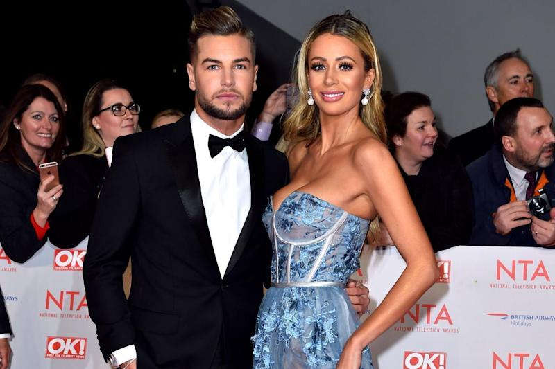 Reunion? Olivia Attwood has admitted that she 'doesn't know if it's over' for her and Chris Hughes: PA