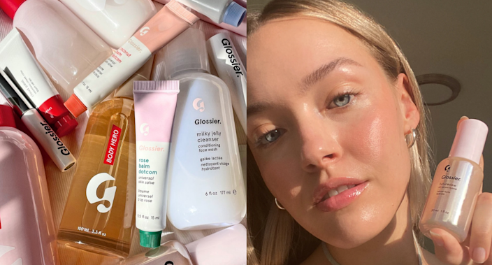 'Youth in a bottle': This cult-favourite Glossier serum is on sale — but only for this weekend (Photos via damselflavored/Instagram & Glossier)