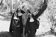 <p>Diana Ross (right) got her first taste of acting in 1968 when she and her fellow singing partners guest-starred on the television show, <em>Tarzan,</em> as a group of nuns from a convent.  </p>