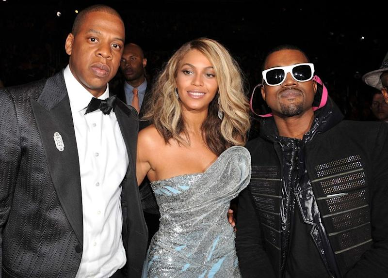 JAY-Z, Beyoncé and Kanye West