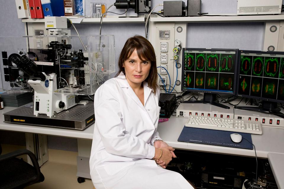 ROZZANO, ITALY - OCTOBER 22:  Antonella Viola poses for a portrait session in Humanitas Hospital, Viola try understanding how to help lymphocytes to fight cancer or viruses on October 22, 2007 in Rozzano, Milan, Italy.  (Photo by Alessandro Albert/Getty Images) (Photo: Alessandro Albert via Getty Images)
