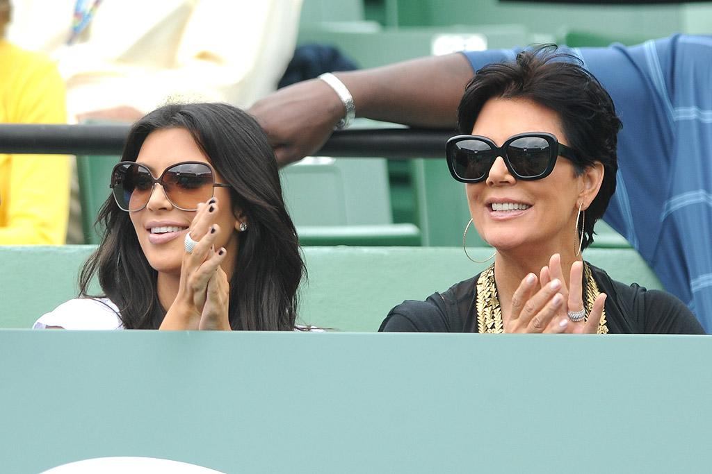 "Besides, the newly single ShoeDazzle spokeswoman is obviously enjoying the extra time with her fam, including her mom, Kris Jenner. How long do you think the starlet will stay single, and do you think she and Bush will give it another go? <a href=""http://www.infdaily.com"" target=""new"">INFDaily.com</a> - March 29, 2010"