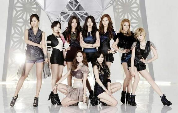 Made in South Korea, popular in North Korea. The K-Pop group Girls Generation (SNSD).