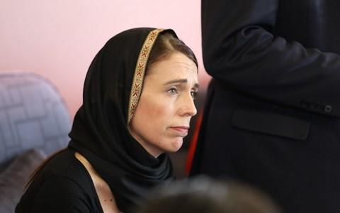New Zealand Prime Minister Jacinda Ardern meets with Muslim community representatives in Christchurch on Saturday - Credit: Getty